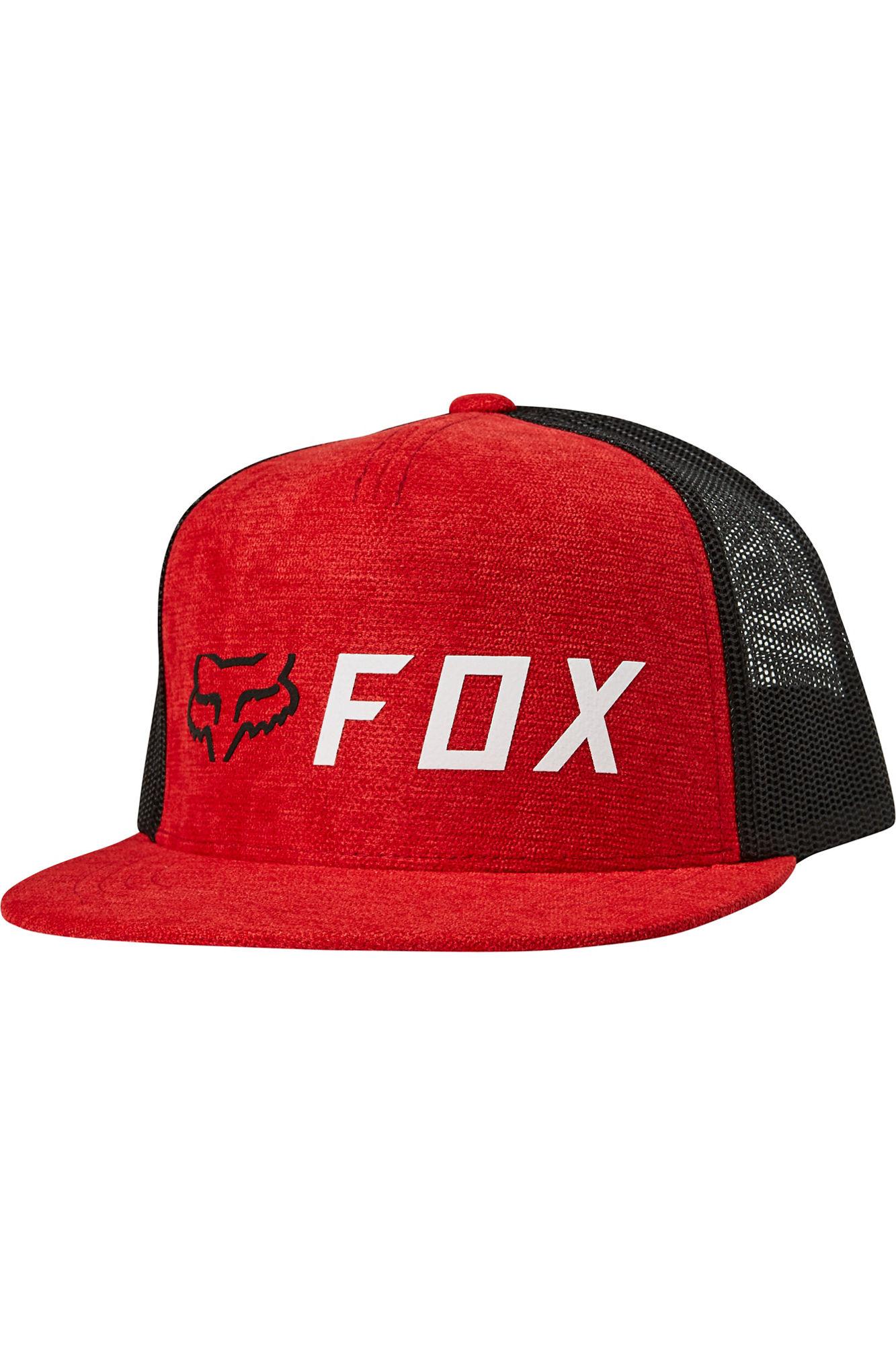 Pánská kšiltovka Fox Apex Snapback Hat Chili OS