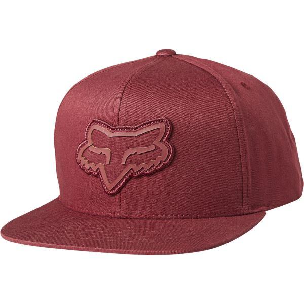 Pánská kšiltovka Fox Gasket Snapback Hat Cranberry OS