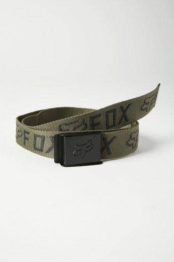 Pánský pásek Fox Mr. Clean Web Belt 2.0 Olive Green OS