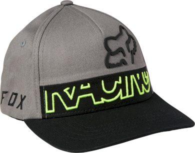 Dětská čepice Fox Youth Skew Flexfit Hat Pewter OS