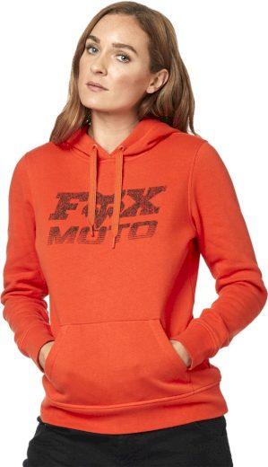 Dámská mikina Fox Die Hard Pullover Fleece Atomic Orange