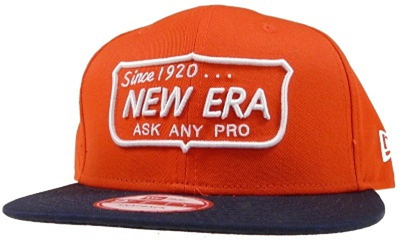 Kšiltovka New Era Ask Any Pro 950 orange-ocan