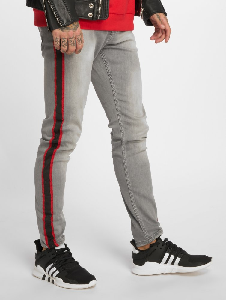 Bangastic / Straight Fit Jeans Conner in grey
