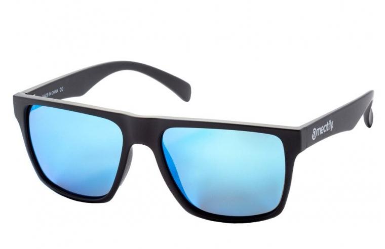 Brýle Meatfly Trigger black matt, blue