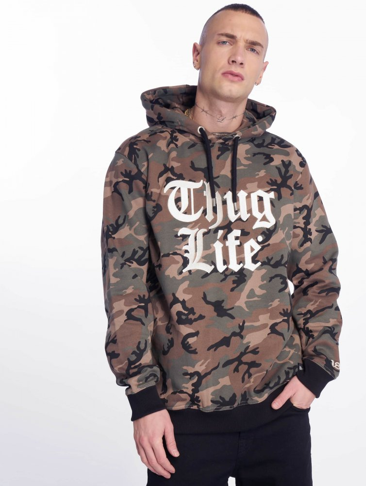 Thug Life / Hoodie Ssiv in camouflage