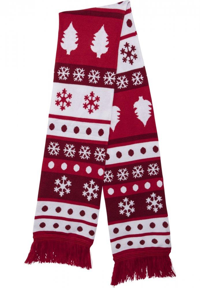 Christmas Scarf Dots