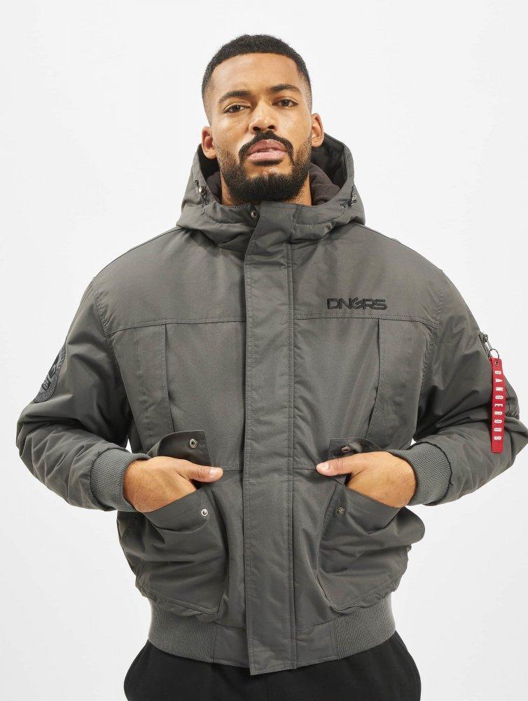 Dangerous DNGRS / Winter Jacket Grenadier in grey