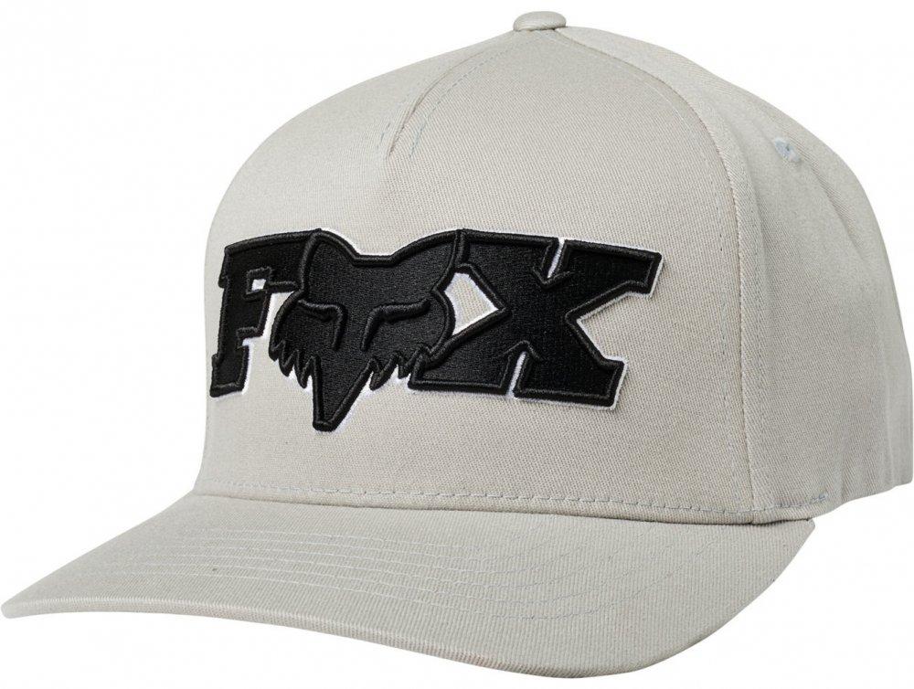 Kšiltovka Fox Ellipsoid Flexfit grey/black