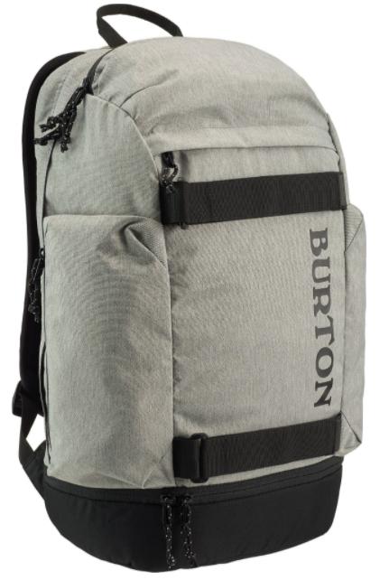 Batoh Burton Distortion gray heather 29l