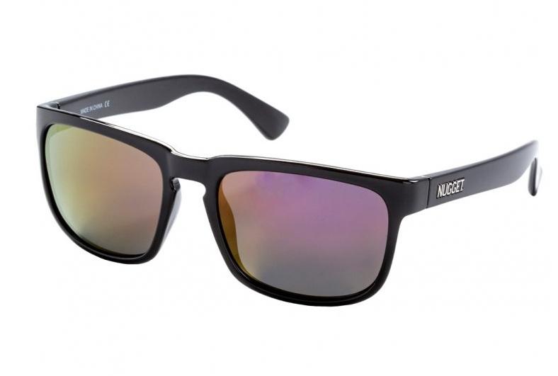 Brýle Nugget Clone 2 black glossy, red