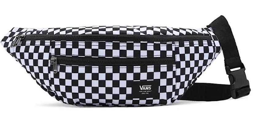 Ledvinka Vans Ranger Waist Pack black-white checkerboard