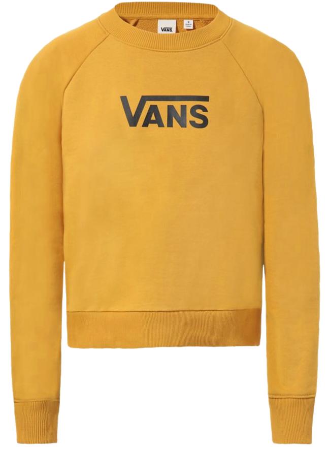 Mikina Vans Flying V FT Boxy golden yellow