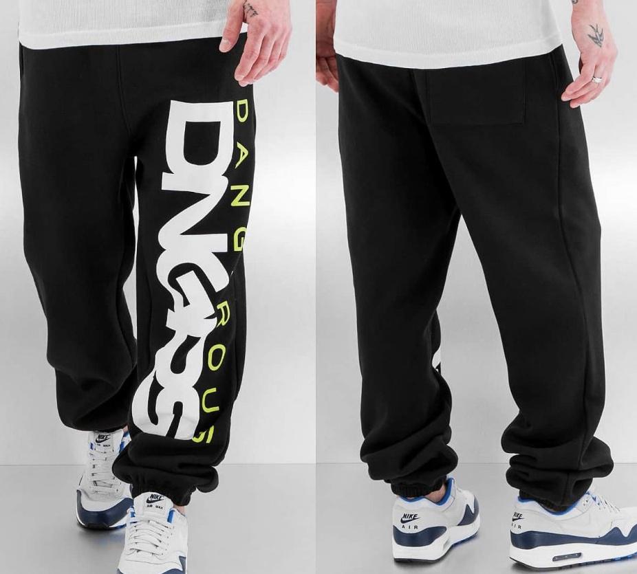 Tepláky Dangerous DNGRS / Sweat Pant Classic in black