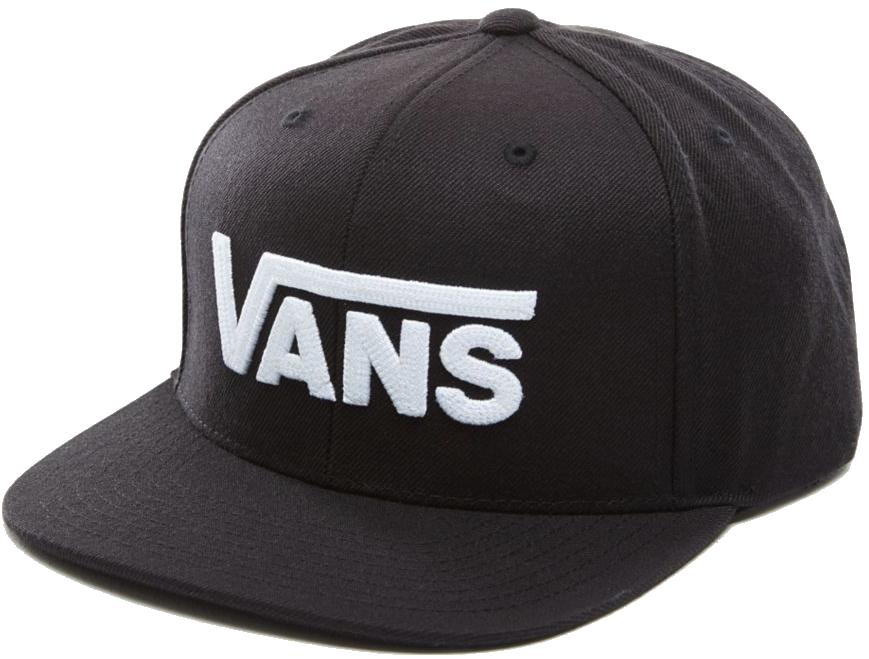 Kšiltovka Vans Drop V Snapback black-white