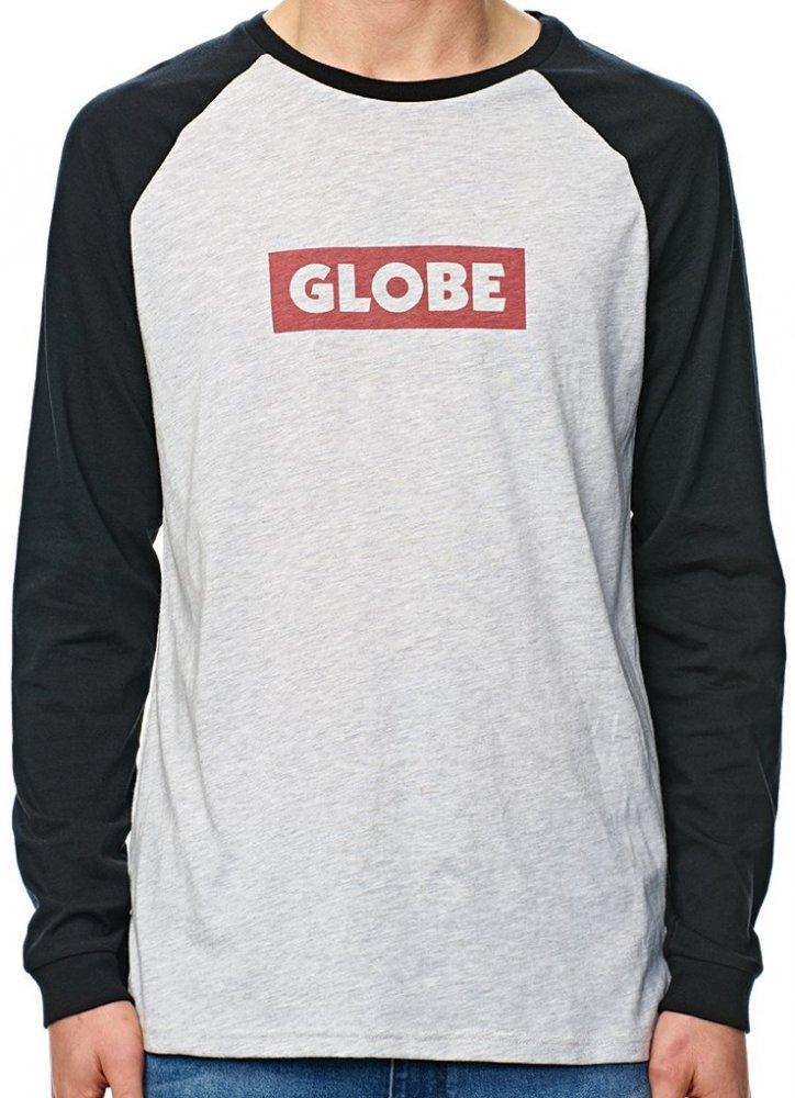 Tričko Globe Box LS storm marle