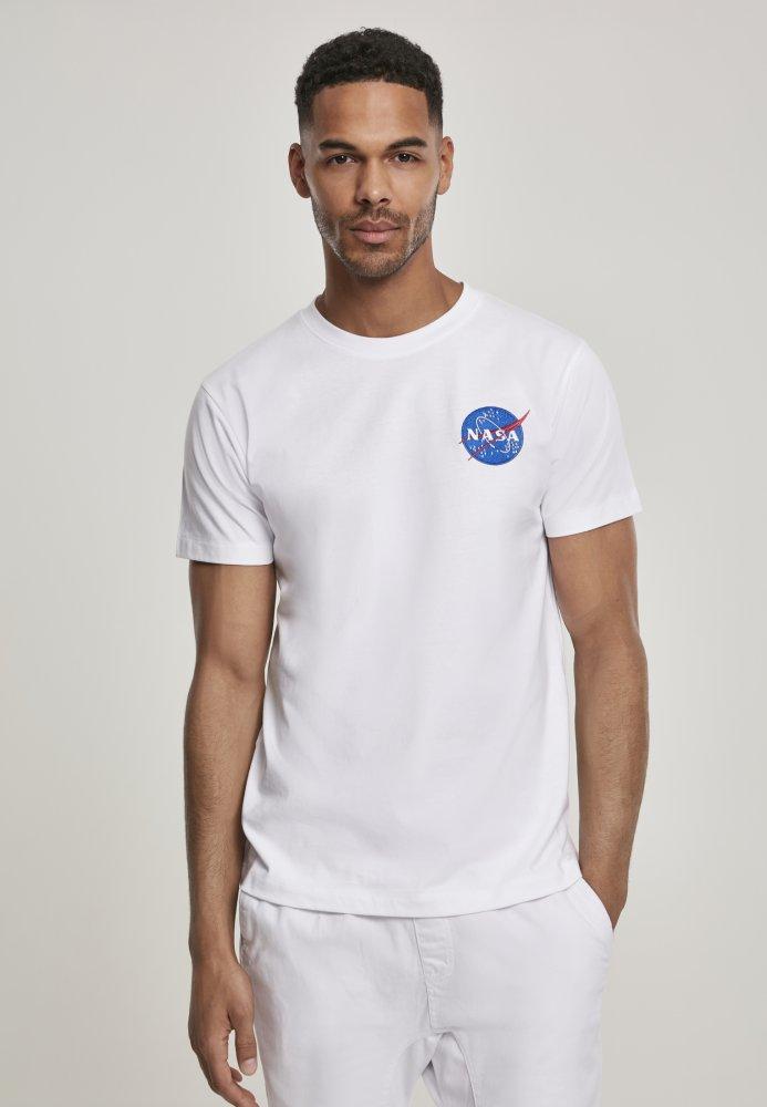 NASA Logo Embroidery Tee - white