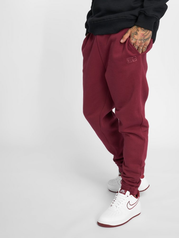 Thug Life / Sweat Pant Avantgarde in red