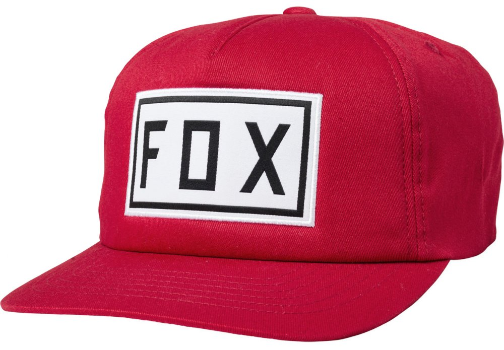 Kšiltovka Fox Drive Train Snapback chili