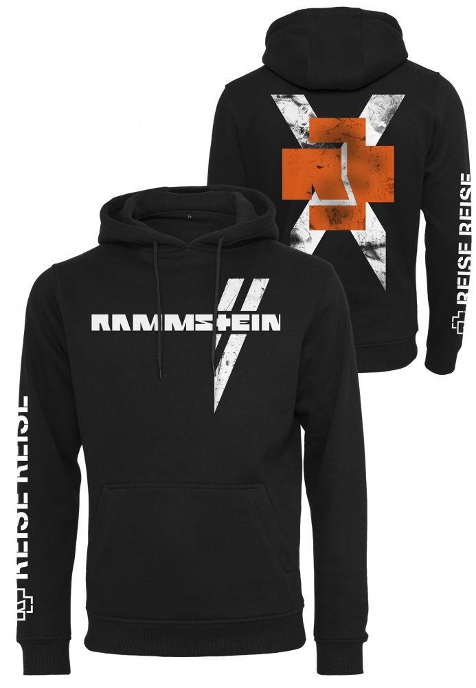 Rammstein Weißes Kreuz Hoodie