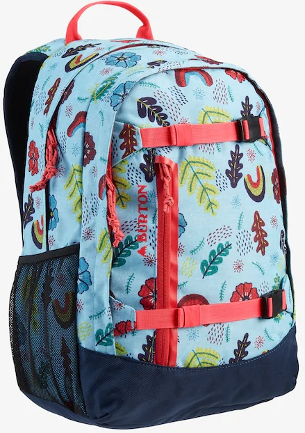 Batoh Burton Youth Day Hiker embroid floral print 20l