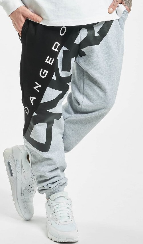 Tepláky Dangerous DNGRS / Sweat Pant Pivot in grey