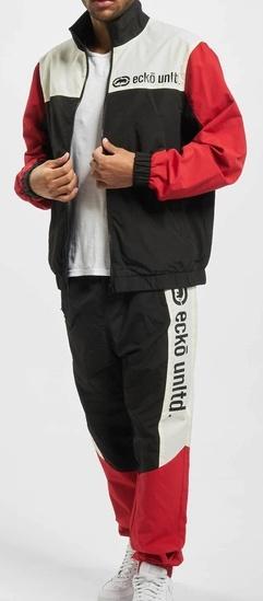 Souprava Ecko Unltd. E Big Sweatsuit black/red/off white