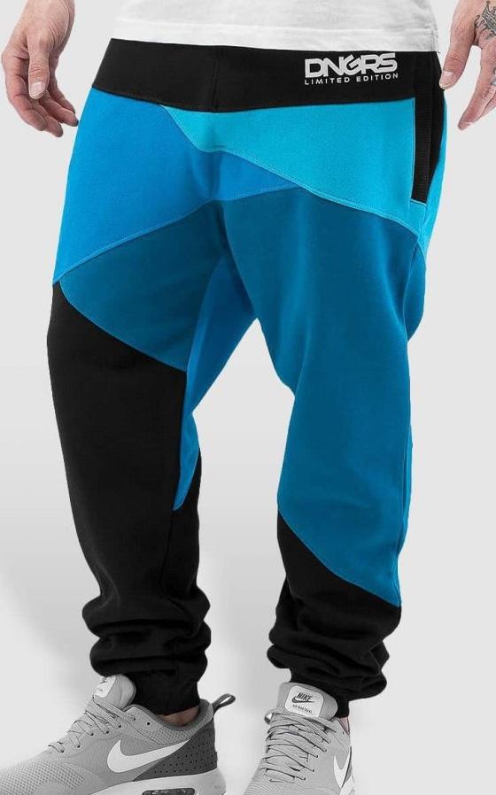 Tepláky Dangerous DNGRS / Sweat Pant Locotay in blue