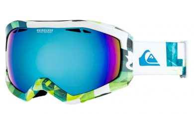 Brýle Quiksilver Fenom lime green, check atomic