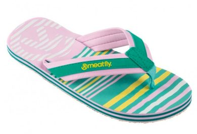 Žabky Meatfly Miray pink, turquoise