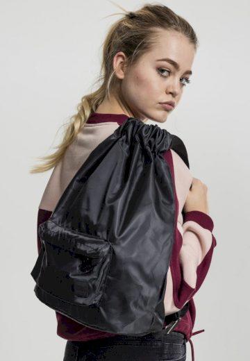 Pocket Gym Bag - black