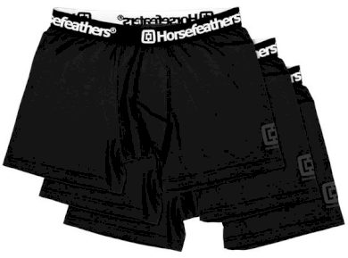 Trenky Horsefeathers Dynasty 3pack black