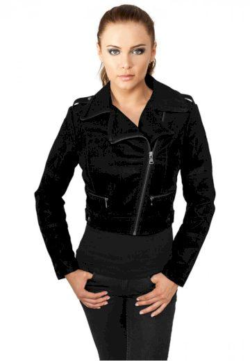 Ladies Short Biker Jacket