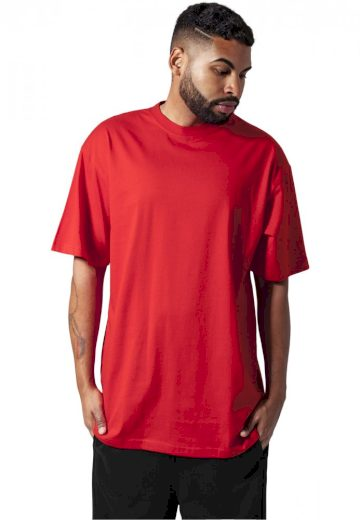 Tall Tee - red