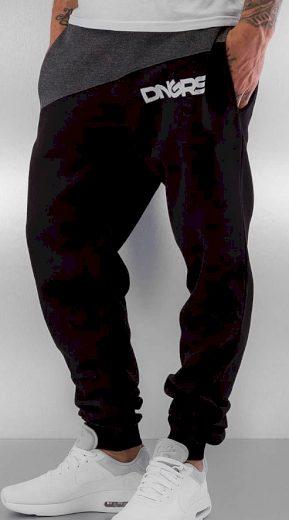 Tepláky Dangerous DNGRS / Sweat Pant Hardcore in black