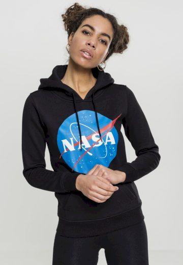 Ladies NASA Insignia Hoody - black