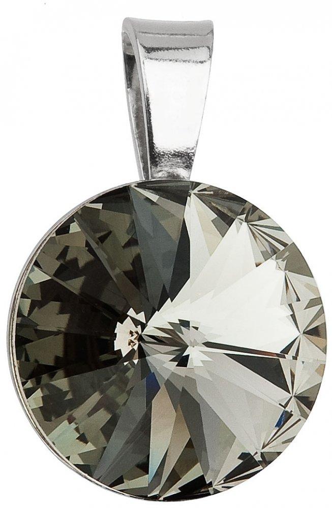 PŘÍVĚSEK SE SWAROVSKI ELEMENTS 34112.3 BL. DIAMOND
