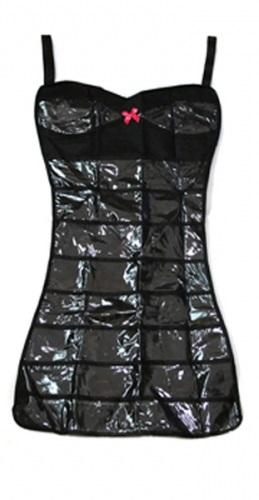 Závěsný organizér - šperkovnice černé sexy šaty