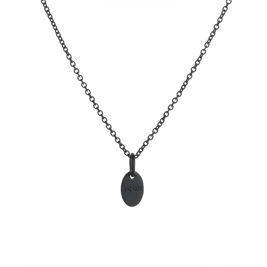 Icon Brand - Černý náhrdelník Usk