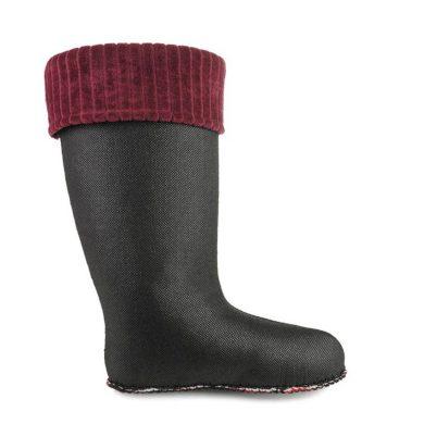 Flísové Ponožky CLASSIC Vínové Dámské