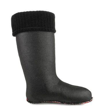 Flísové Ponožky CLASSIC Černé Dámské