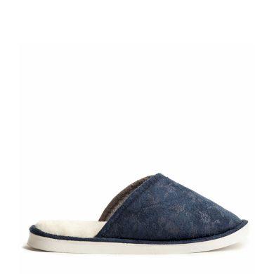 Papuče WARMY Modré Dámské