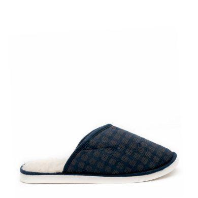 Papuče WARMY Modré Pánské
