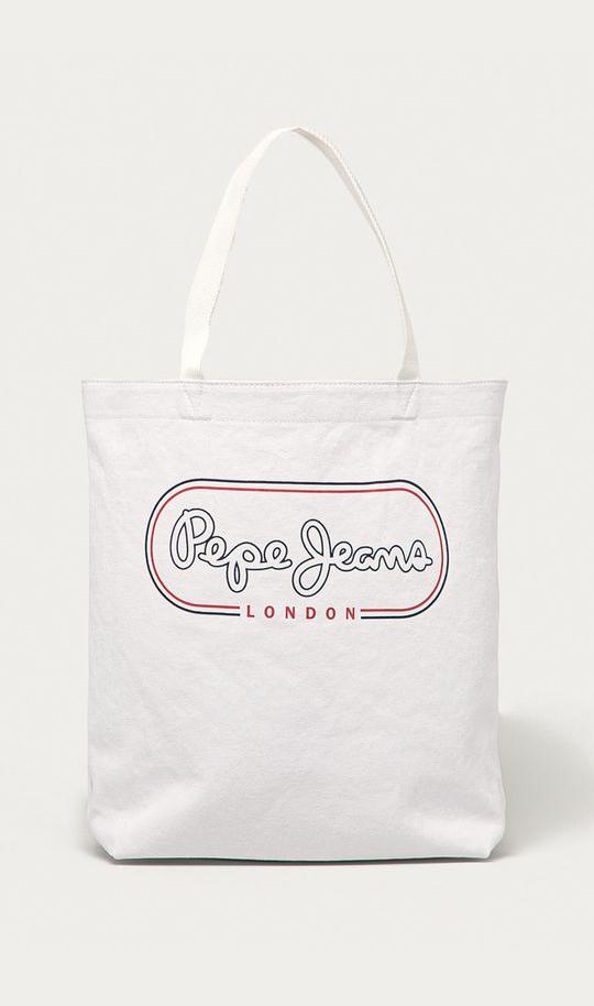 Pepe Jeans dámská bílá kabelka MER BAG