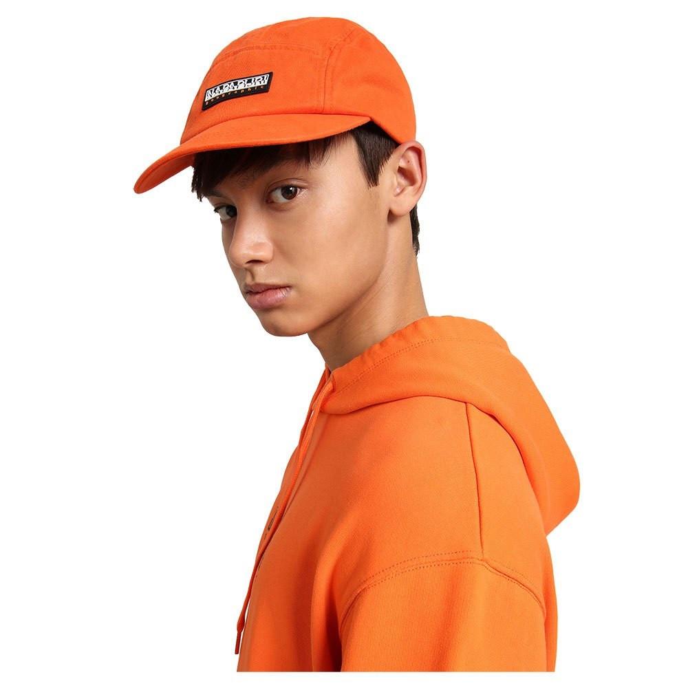 Napapijri pánská oranžová kšiltovka F-KUALOA