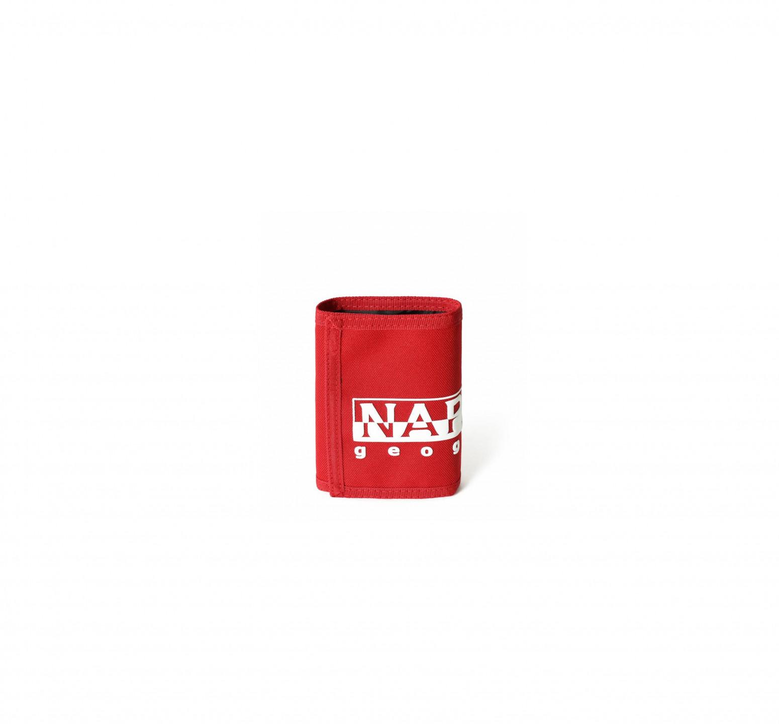 NAPAPIJRI červená peněženka HAPPY WALLET 2 094 OLD RED