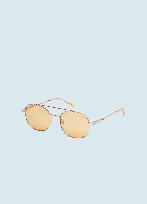 Pepe Jeans pánské žluté sluneční brýle Toni