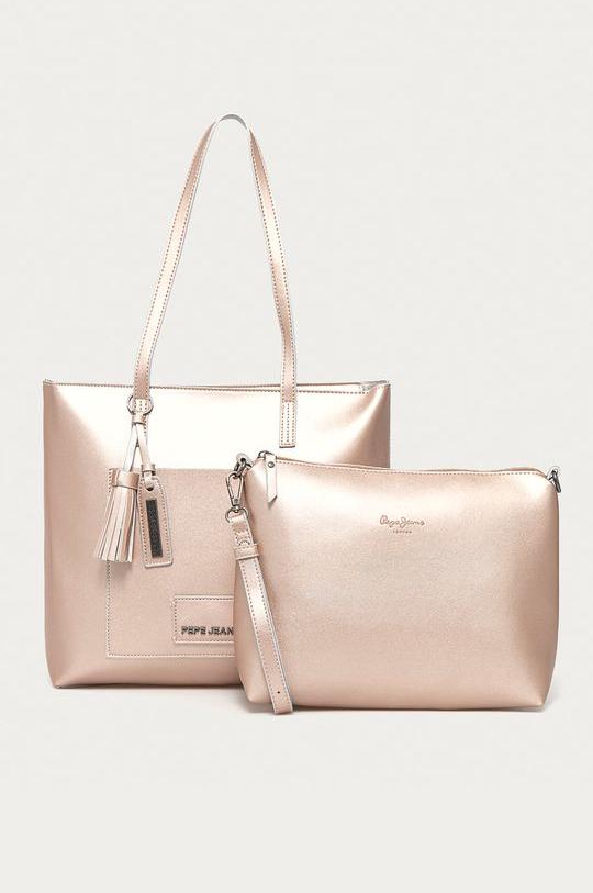 Pepe Jeans dámská růžová kabelka CIRA SHOPPING