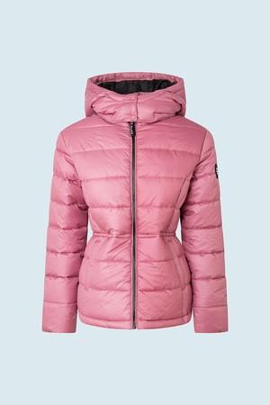 Pepe Jeans dámská růžová zimní bunda CAMILLE