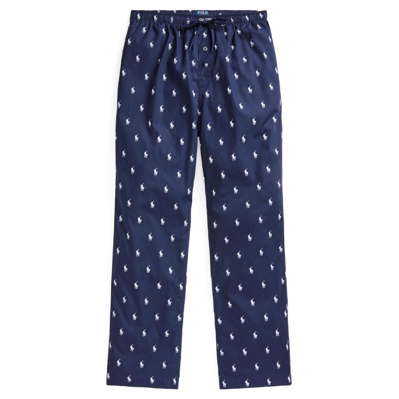 Polo Ralph Lauren pánské tmavě modré kalhoty na spaní