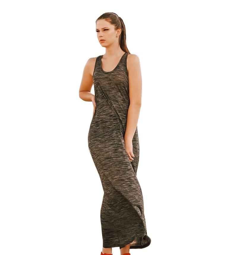 Calvin Klein dámské šedé šaty